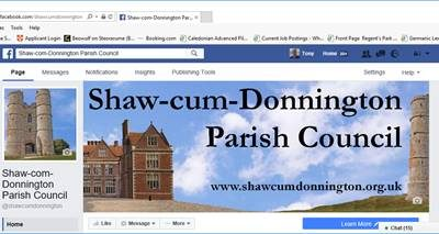 New Facebook Page