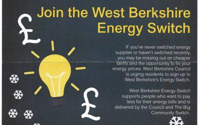West Berkshire Energy Switching Scheme