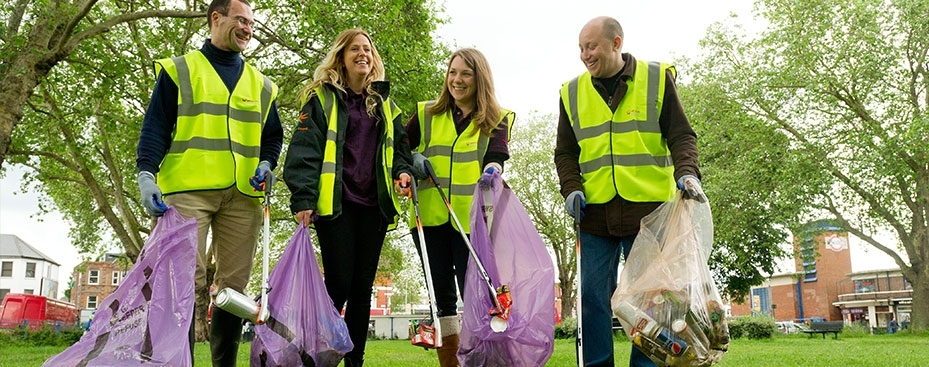 Community Litter picking – Saturday 24th March 2018