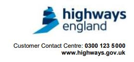 Notification of Roadworks:  M4 Junctions 12 to 13 Hermitage (West Berkshire) – Bridge Refurbishment Works