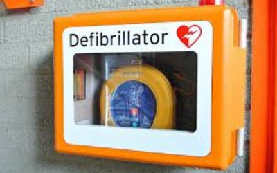 Parish defibrillator donations please!