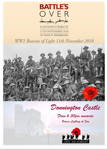 Join the Community on 11th November at Donnington Castle
