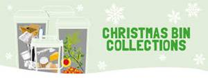 Dates for Bin Collections over Christmas and Tree Recycling