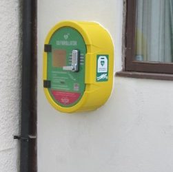 Community Defibrillator – Village Hall, Love Lane, Donnington, RG14 2JG