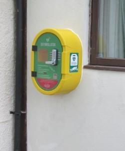 Community Defibrillator – Village Hall, Love Lane, Donnington, RG14 2JG