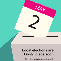 Local Elections  – Thursday, 2nd May 2019