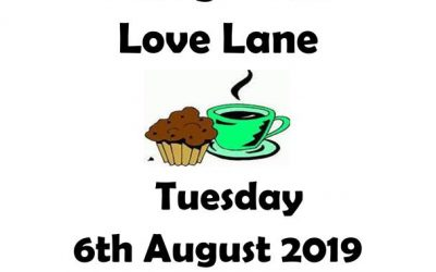 Coffee Morning – Tuesday 6th August – 10:30am – 12:00
