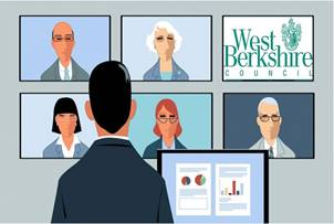 West Berkshire Council moves to virtual meetings during Covid-19 pandemic