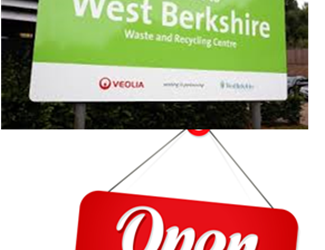West Berkshire Council household recycling centres set to reopen