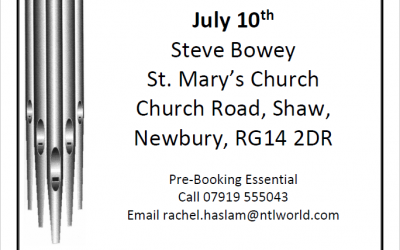 Concert at St Mary's on 10th July